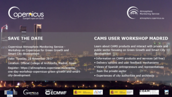 SMURBS @ Workshop of Copernicus Atmosphere Monitoring Service (CAMS), 28 November 2017, Madrid,Spain